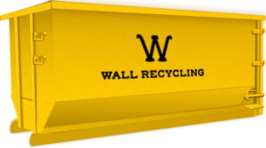 wall recycling 10 yard dumpster
