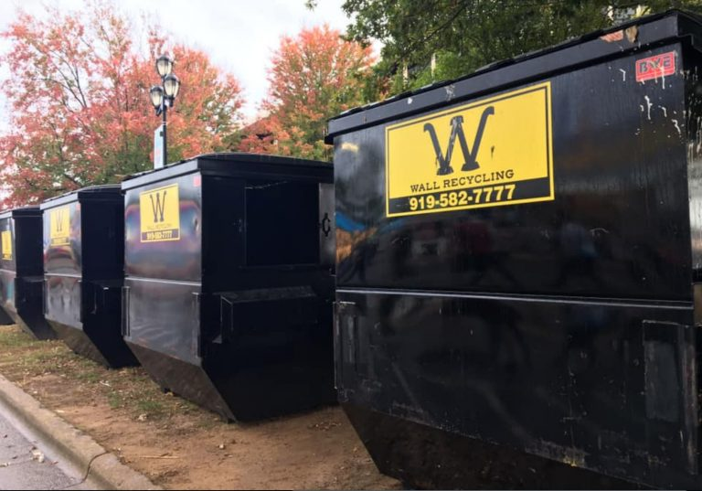Dumpster rental Raleigh NC Wall Recycling