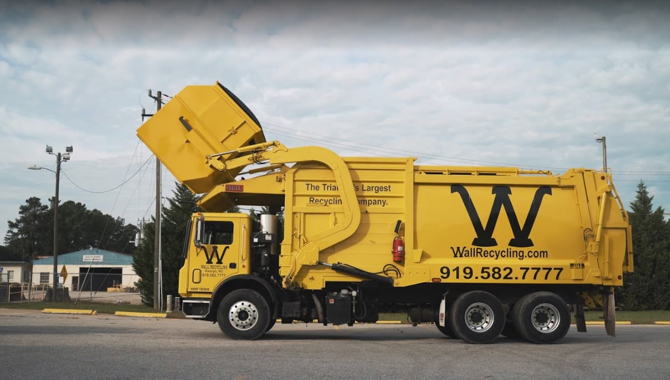 Permanent dumpster rental services in Raleigh