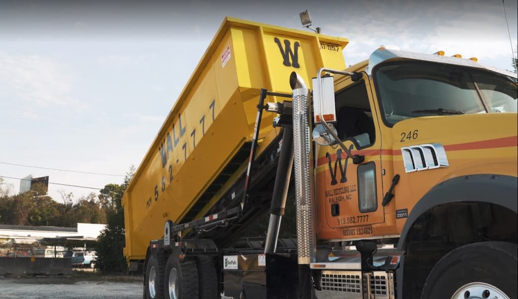 residential dumpster rental services from Wall Recycling
